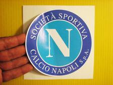 "BEST PRICE! LOT OF 10 SOCCER DECAL / STICKER NAPOLI ITALY / ITALIA 5"" X 5"""