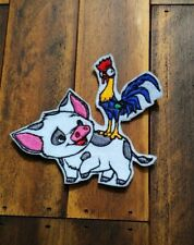 Patch Iron-On or Sew-On Moana Pig Applique