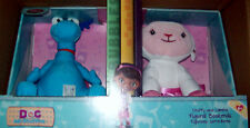 Doc McStuffins Stuffy and Lambie Figural Bookends NIB