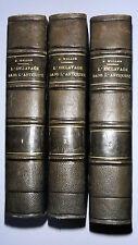 HISTOIRE DE L'ESCLAVAGE DANS L'ANTIQUITE - PAR H. WALLON - EN TROIS VOLUMES