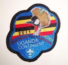 22nd world scout jamboree UGANDA CONTINGENT VARIENT 2011