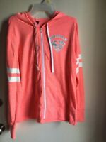 SUPERMAN Hoodie buddie  for WOMEN  size XL COLOR ORANGE