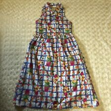 Laura Ashley Mother & Child Checked Floral Flower Pot Cotton Dress 9 Years 53""