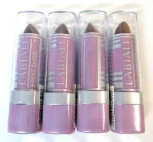 LABIALI Fruit Shine Lipstick 143 Cafe au Lait READ DESCRIPTION Sealed Lot of 4