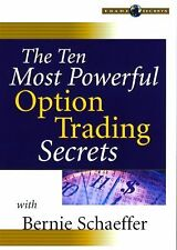 The Ten Most Powerful Option Trading Secrets (Wiley Trading Video), Schaeffer, B