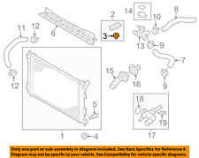 New OEM Front Radiator Upper Air Guide For 12-15 Rio 291351W000