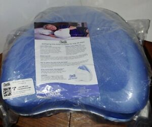 Contour Legacy Ergonomic Leg & Knee Relief Support Pillow in Blue, NEW Sealed!!!