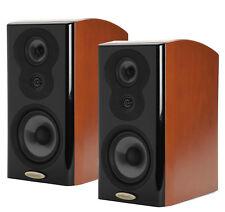 Pair (2) Polk Audio LSiM 703 Bookshelf Speakers - Mount Vernon Cherry