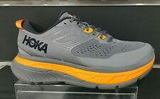 HOKA ONE ONE Men's Stinson ATR 6 Running Shoe - FROST GRAY/BRIGHT MARIGOLD