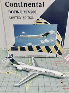 InFlight 200 1:200 Continental Boeing 727-200 Limited Edition N77780 IF722024