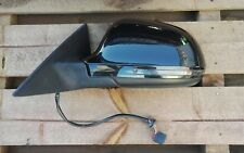 2007-2011-AUDI A5 N/S PASSENGER SIDE DOOR MIRROR WING MIRROR BLACK LZ9Y