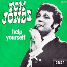 TOM JONES - Help Yourself / Day By Day - DECCA BELGIUM 26.185 - ★★★★★★★★★★★★★★★★