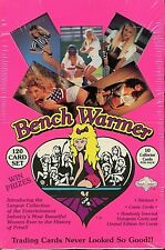 1992 BENCHWARMER Trading Card Factory Sealed Box,36 Packs/10 Cards Per Pack,New