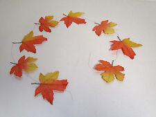 Girlande Ahorngirlande Herbstdeko Herbst Dekoration künstlich Floristik wie echt