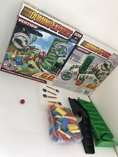 Domino Express Vertigo Game by Ideal 60 Dominoes Race Set,