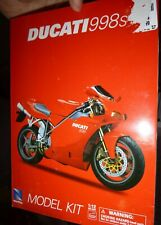 New Ray 53715 Ducati 998s 1/12 MOTORCYCLE KIT