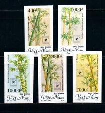 N.691-Vietnam-IMPERF- Bamboos set 5 1994