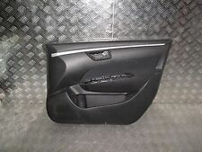 SUZUKI SWIFT 2015 2016 O/S/F DRIVER SIDE FRONT DOOR CARD .