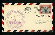 US Postal History Airmail CAM 23 Montgomery AL 2/15/1932 AAMC #23NE6 Air Corps