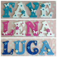 Children Baby Name Door Wooden Letter Bedroom Nursery Wall Boys Girls Any Theme