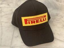 New Pirelli Racing Baseball Cap, Black, Adjustable