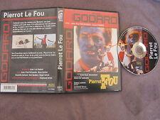 Pierrot le fou de Jean-Luc Godard avec Jean-Paul Belmondo, DVD, Policier