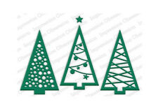 CHRISTMAS TREE CUTOUT DIE-Impression Obsession/IO Stamps (DIE240-V)-Steel/Wafer