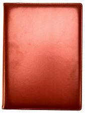 Arpan A4 Marrone Professional Display presentazione Book 48 Tasca Cartella 96-side
