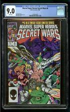 SECRET WARS #6 (1984) CGC 9.0 1st PRINT WHITE PAGES