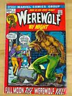 Werewolf By Night #1 First Solo Series Marvel Comics Bronze Age 1972 Key Issue