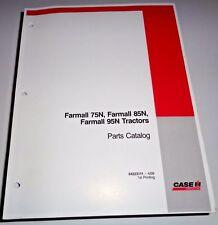 Case IH Farmall 75N 85N 95N Tractor Parts Catalog Manual Book Original! CIH