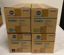 Genuine Konica MInolta TN-713 Toner set C,M,Y,K for C659,759