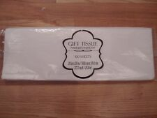 "100 Sheets Premium White Tissue Wrapping Paper 20"" x 20"" Bin 8.88 Its Yours"