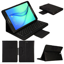For Samsung Galaxy TabA9.7 T550 Bluetooth Detachable Leather Stand Keyboard Case