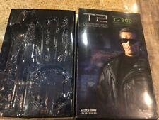 "T-800 12"" 1/6 Sideshow Schwarzenegger  T2 terminatorEMPTY BOX"