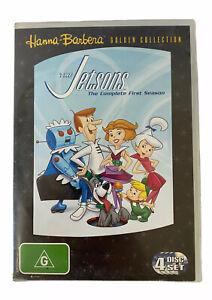 THE JETSONS: Season 1 DVD Australian Release 4 Disc Set-FREE POSTAGE
