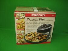 Presto Pizzazz Plus Rotating Oven 03430 Pizza, Nuggets, Cookies, New