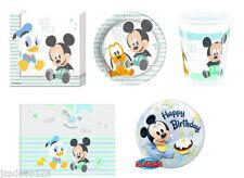 Articoli blu Disney per feste e party