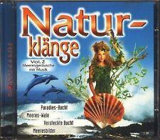 Naturklänge 2 Meeresgeräusche mit Musik [CD]