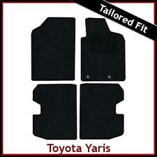 TOYOTA YARIS T-Sport Mk1 / XP10 2001-2005 Tailored Carpet Car Floor Mats BLACK