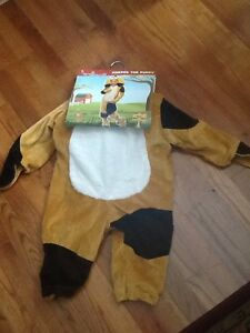 Harper The Puppy  Costome Complete with Body Suit , Hat and Paws 36M-48M