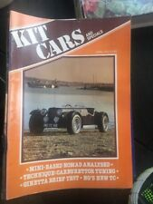KIT CARS & SPECIALS - APRIL 1982