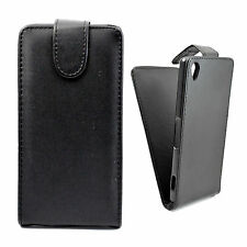 Flip PU Leather Cover Phone Pouch Case For Sony Xperia Z1 Z2 Z3 Z4 Compact E1 E4