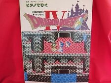 SQUARE-ENIX Dragon Warrior (Quest) IV 4 Piano 24 Sheet Music Collection Book NES