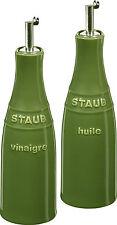 Staub set de aceite y vinagre albahaca