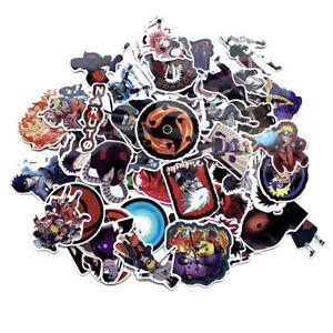 70 Stücke Naruto Aufkleber Sticker Kakashi, Sasuke, Itachi,
