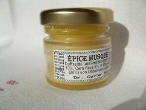 Moschus-Duftsalbe Épice Musque €60/100g antientzündlich, antiaging,