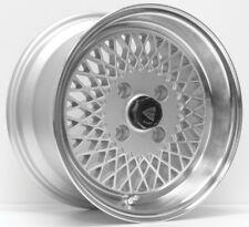 15x8 Enkei ENKEI92 4x100 +25 Silver Wheel (1)