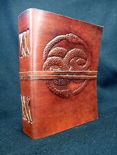 AURYN Handmade Leather Journal - NeverEnding Story - Wicca Book of Shadows