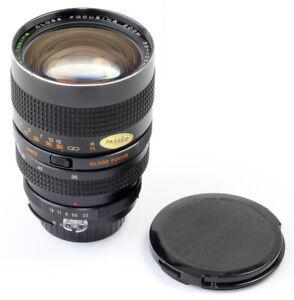 For Nikon F: RMC Tokina 35-105mm 1:3,5 (MACRO CLOSE FOCUSING) ZOOM TOP & CLEAN !